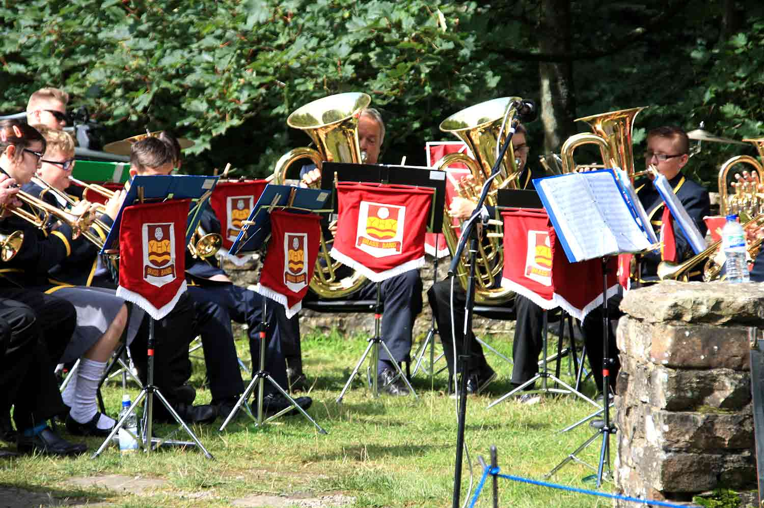 Hardraw Scarr Brass Band Competition